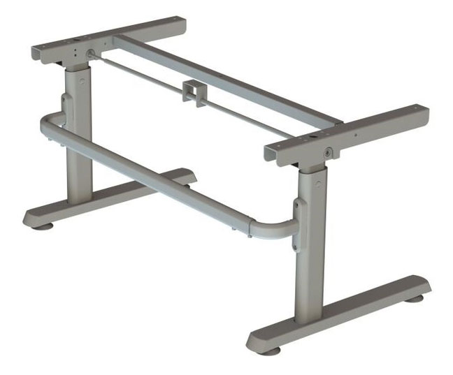 Height Adjustable School Desk NSTD Frame Only, Large