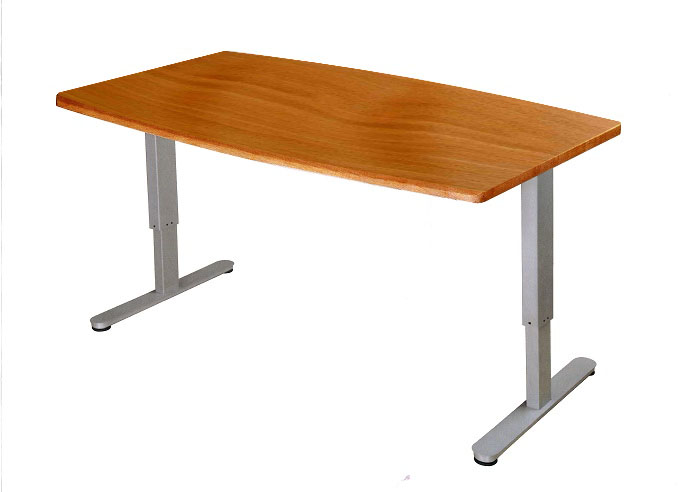 Height Adjustable Standing Meeting Tables Shaft Direct