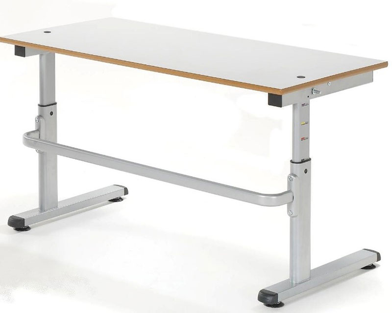 Height Adjustable School Desk 1200, Delivered fully Assembled
