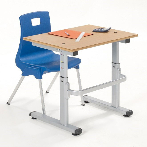 Height Adjustable School Desk 700, delivered fully Assembled