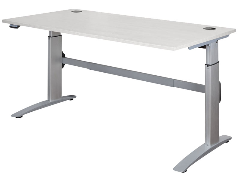DELUXE, Motorised Sit Stand Desk Frame with top options
